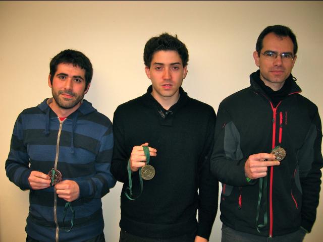 Podium Campeonato de Asturias Universitario 2013